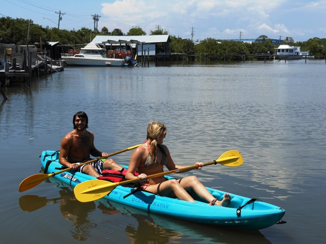Kayaking the Cedar Key from Rains Cottage
